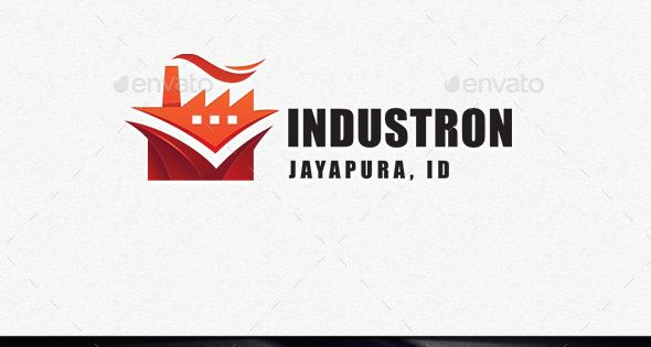 Industron – Buildings Logo Templates – great for business