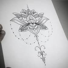 Blumenranken Tattoo 20 Schone Vorlagen Fur 15 4