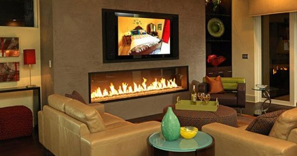 Echelon Direct Vent Gas Fireplaces by Majestic Products - nice look with no  surround and driftwood log set. | Home | Pinterest | Modern fireplaces, ... - Echelon Direct Vent Gas Fireplaces By Majestic Products - Nice