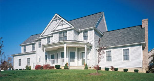 Champion Vinyl Siding Made This House Look Great It Can Increase Your Curb Appeal Improve Energy Efficiency Prevent Vinyl Siding House Siding House Exterior