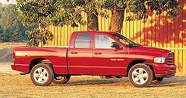 2002 Dodge Ram 1500 Quad Cab 4x4 Slt Plus Sport Ram 1500 Quad Cab Dodge Ram Pickup Dodge Ram 1500
