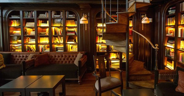 Related Image Nomad Hotel Cool Bars Library Bar