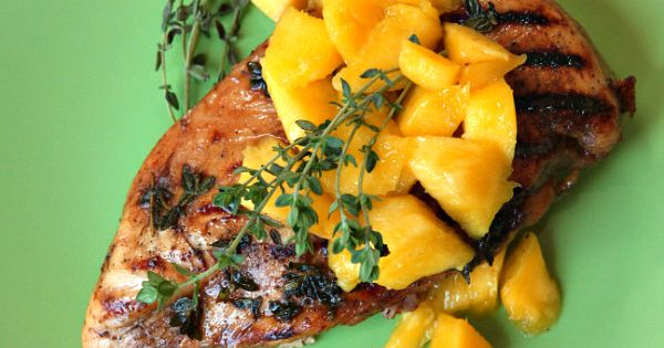 Balsamic- Mango Marinated Grilled Chicken | Marinated Grilled Chicken ...