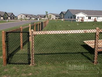 Allied Fence Minnesota Custom Cedar Fence Chain Link