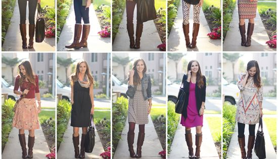 10 Ways to Wear Your Boots This Fall (and 15 Tips to