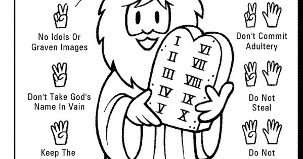 Thou Shalt Not Lie Ten Commandments