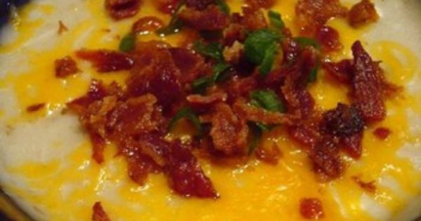 Baked Potato Soup with Cheese & Bacon – Food Recipes | Yummies ...