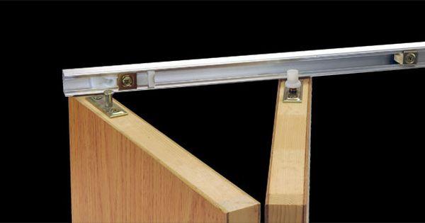 Johnson Hardware 1700 Bi Folding Door Hardware Folding Closet Doors Closet Door Hardware Bifold Door Hardware