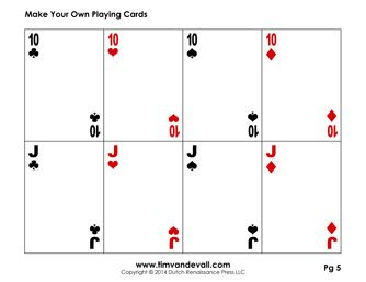 Blank Playing Card Template Make Your Own Playing Cards Pdf Printable Playing Cards Blank Playing Cards Card Templates Printable