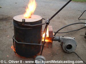Miniature Waste Oil Burner By Lionel Oliver Ii Homemade Miniature Waste Oil Burner Adapted To Fit An 8 Bore Furnace Waste Oil Burner Oil Burners Oil Heater