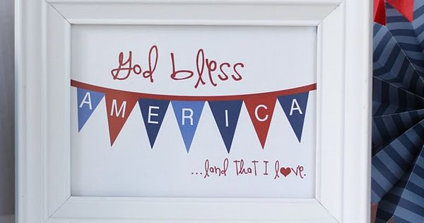God Bless America, Land that I love, quote, quote about America, July