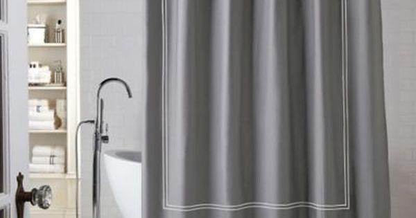 Wamsutta Baratta Stitch Shower Curtain With Images Cotton