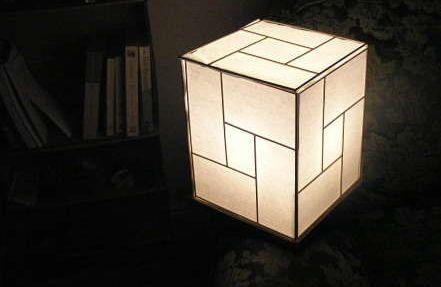 Diy Japanese Lamp From Recycled Materials Diy Lamp Japanese Lamps Paper Lanterns