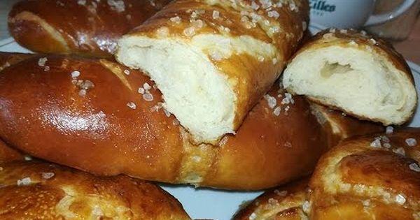 طريقة عمل خبز الاوجن أو البريتزل الألماني جد سهل ورطب مثل القطن Laungen Stange Youtube Food Pretzel Bites Bread