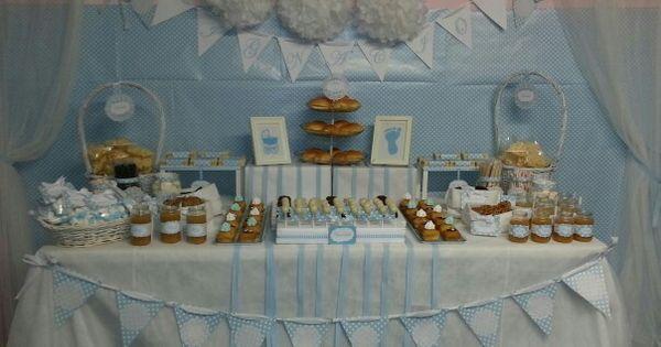 dise o y decoraci n de eventos sevilla mesa dulce para On diseno de mesa para baby shower