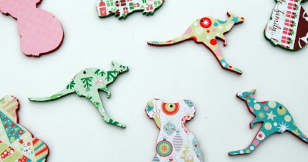 Animal Christmas Ornaments