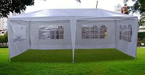 New 20x10 Outdoor Party Wedding Tent Gazebo Events Pavilion White Click Image To Review More Details Gazebo Family Tent Camping Large Gazebo