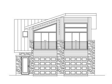 Front View 072g 0034 Carriage House Plans House Plans Garage Apartment Plan