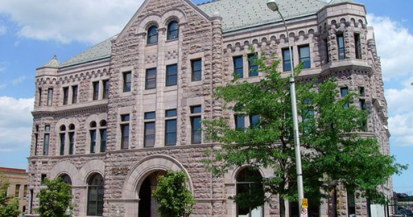 Federal Courthouse And Old Post Office 57103 Sioux Falls South