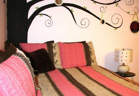 Pink And Brown Bedroom Decorating Ideas Stunning Decorating Design