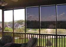 Porch Blinds Outdoor Shade Exterior Solar Shade Outdoor Blinds