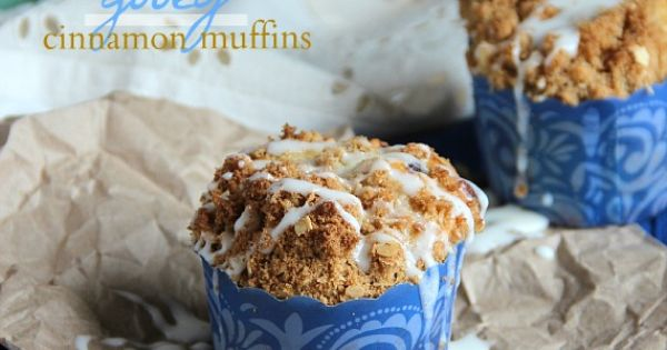 Gooey Cinnamon Roll Muffins {cookies and cups}