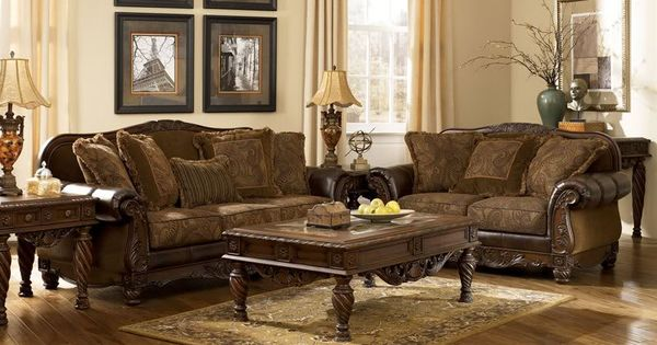 Mauricio old world bonded leather fabric sofa couch set for K furniture fabric world