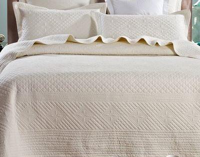 One Allium Way Glaucio Luxury Pure Cotton Quilt Size King Single Quilt Luxury Bedding Luxury Quilts