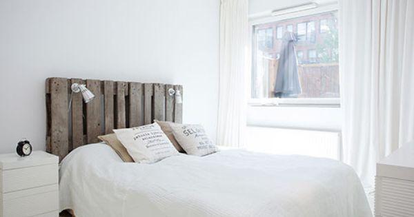 Witte slaapkamer idee n deco gadgets pinterest - Deco romantische ouderlijke kamer ...