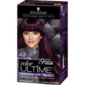 Schwarzkopf Color Ultime Metallic Blacks Permanent Hair Color