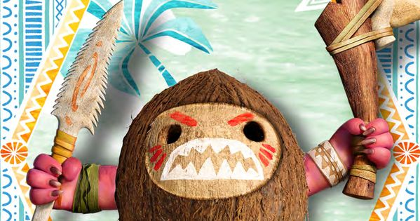 Moana: Make Your Own Kakamora Pirate | Moana, Make your ...