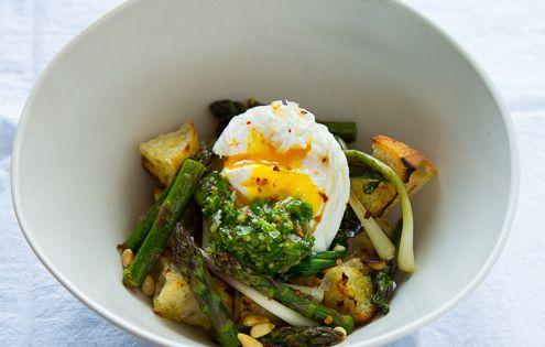 ... Ramps, Asparagus & Lemon Herb Sauce | Recipe | Sauces, Asparagus and