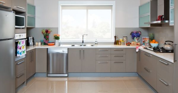 Kaboodle Kitchen So Much Space Available At Bunnings Ushape Benchtopspace Familykitchen