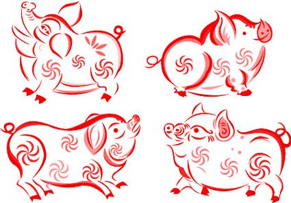 Get To Know Those Born In The Year Of The Pig 1911 1923 1935 1947 1959 1970 1983 1995 Chinese New Year Crafts Year Of The Pig Chinese New Year Design