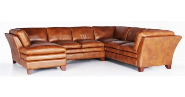 7203 Three Piece Sectional Sofa By Futura Leather Baer S
