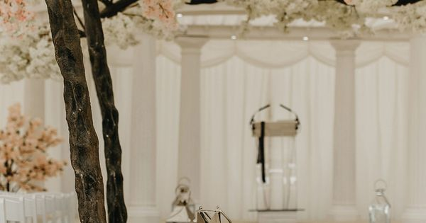 Cherry Blossom Tree Wedding Aisle Blossom Tree Wedding Marquee Wedding Weddings Decorations Elegant Romantic