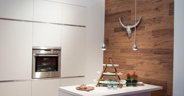Villeroy \ Boch Lodge Fliesen in Holzoptik in Kombination mit - led leisten küche
