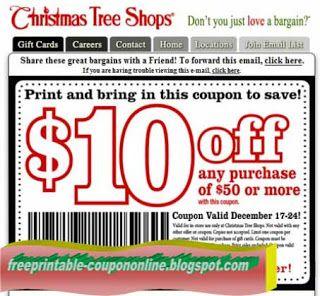 Free Printable Christmas Tree Shops Coupons Coupons Christmas Tree Shop Best Buy Coupons