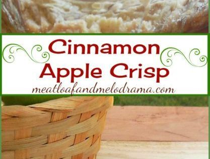 Cinnamon apple crisp recipe easy fall desserts few for Easy apple dessert recipes with few ingredients