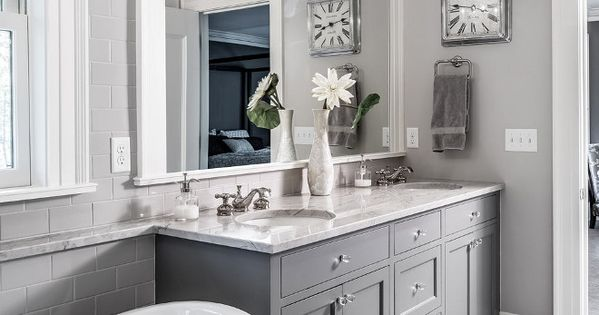 the grey cabinet paint color is benjamin moore kendall charcoal greycabinet paintcolor quartersawn design build pinterest