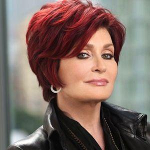 Sharon Osbourne Warns That She May Have To Stab Howard Stern On America S Got Talent Sharon Osbourne Hair Hair Color For Black Hair Medium Hair Styles For Women