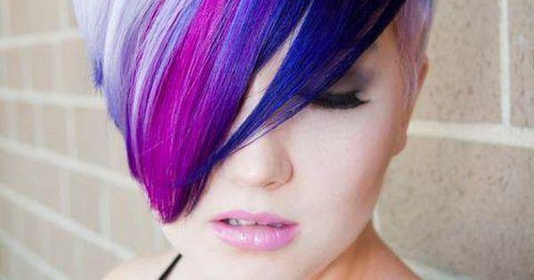 hair, hair color, purple hair, pink hair, blue hair, purple, pink, blue