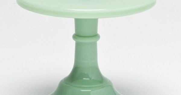 Mosser Glass mini cake stand