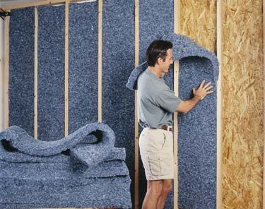 The Best Insulation Types For Your Home Home Insulation Industrial Room Sound Proofing