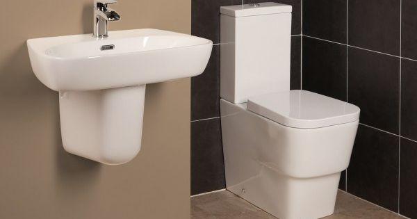 Affine Toulon Bathroom Suite Downstairs Loo Pinterest