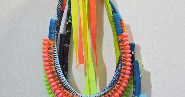 Tribal handmade necklace Eleven necklace tutorials handmade jewelry necklace DIY craft beading