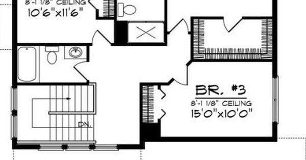 0023 plano de casa de 175 metros cuadrados 3 dormitorios for Piso 65 metros cuadrados
