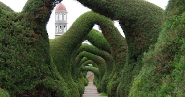 Zarcero Topiary Gardens, Costa Rica this would be an awesome place to
