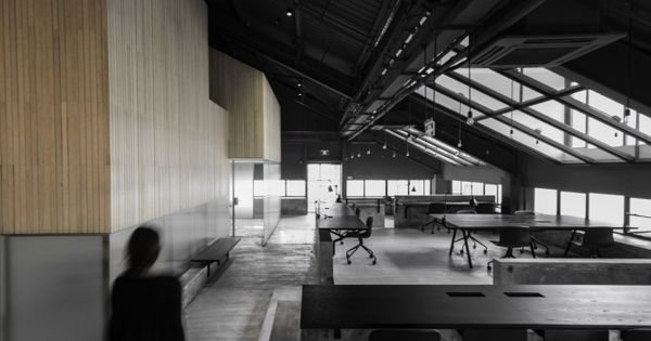 Gallery of flamingo shanghai office neri hu design and for Office design research