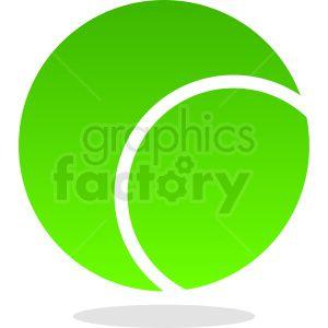 Green Tennis Ball Vector Clipart Royalty Free Clipart 411087 Clip Art Clipart Design Tennis Ball